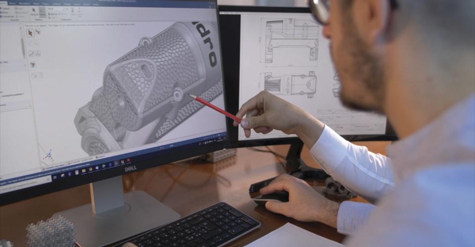 Aidro_Design_3Dprinting_AdditiveManufacturing_Valve_Manifold_Engineering_topologyOptimization