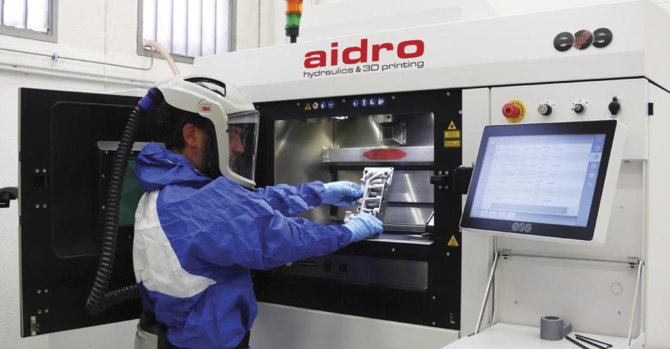 Aidro_production_3Dprinting_AdditiveManufacturing_Valve_Manifold_EOS_M290